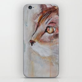 Le chat (the cat) iPhone Skin