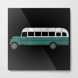The Magic Bus Metal Print