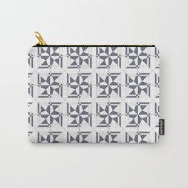 Multi Star Block Design Carry-All Pouch