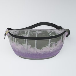 Tranquility in Shades of Lavender Fanny Pack