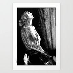 asc 674 - La visite galante (Enjoying the visit) Art Print