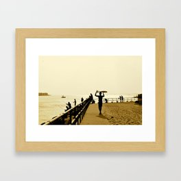 Indian River Inlet Framed Art Print