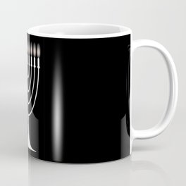 Menorh With Nine Candles Coffee Mug