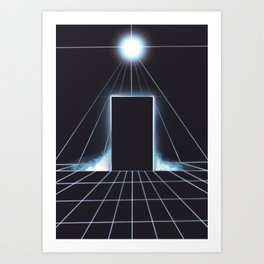 Enter Our World Art Print