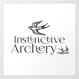 Instinctive Archery Art Print