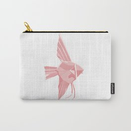 Origami Angelfish Carry-All Pouch