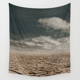 Arid Clouds Wall Tapestry