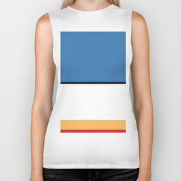 COLOR ME - DONALD DUCK Biker Tank