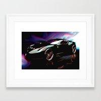 ferrari Framed Art Prints featuring New Ferrari by JT Digital Art