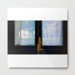 Retrato de una mañana espléndida Metal Print