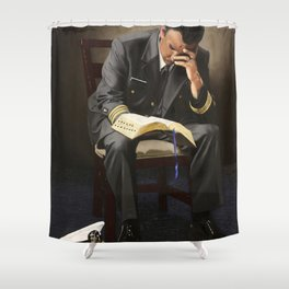 Be Still My Soul (LCDR) Shower Curtain