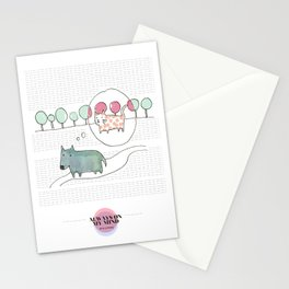 LOVE IN OUR OPINION - ALWAYS ON MY MIND Stationery Cards