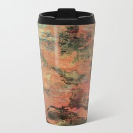 Elegantly Marbleized on Hand-made Paper Travel Mug