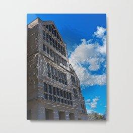 The building Metal Print