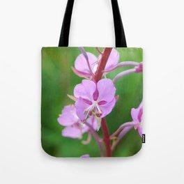 Fireweed Wildflower Tote Bag