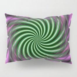 Psychedelic Swirl Pillow Sham