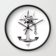 Ancla Wall Clock