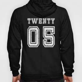 Cool Nineteen 2005 Birthday Christmas Shirt for Son, Daughter, Niece or Nephew Hoody