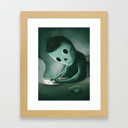 Unwritten Framed Art Print