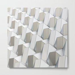Pattern cubism Metal Print