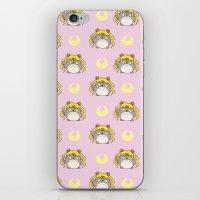 ghibli iPhone & iPod Skins featuring Sailor Ghibli by KiraKiraDoodles