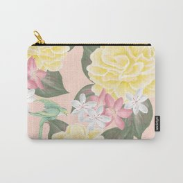 Pale Garden Carry-All Pouch