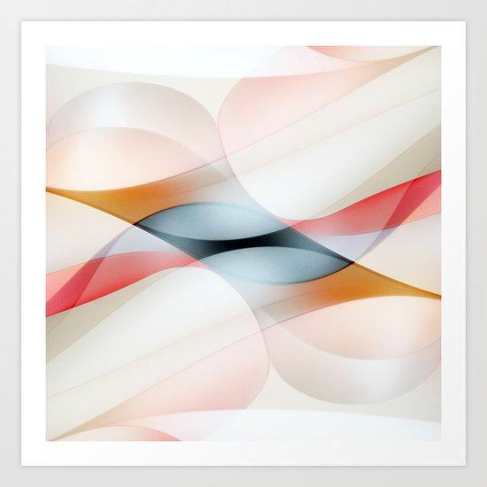 The lines Art Print