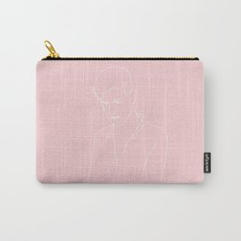 ADAM HANN // PINK Carry-All Pouch