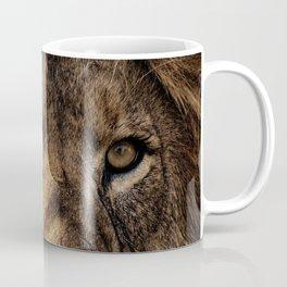 Dark lion's face Coffee Mug