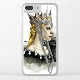 Queen Ravenna Clear iPhone Case