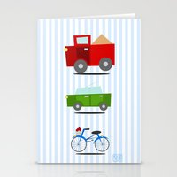 cars Stationery Cards featuring Cars by Alapapaju