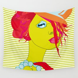 The Green Girl Wall Tapestry