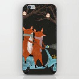 the fox mobile iPhone Skin