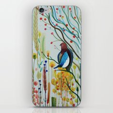sous les branches iPhone Skin