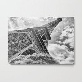 Eiffel Tower in Paris, France Metal Print