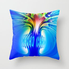 Abstract Composition 116 Throw Pillow