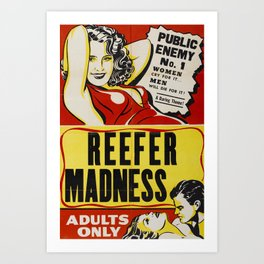Reefer Madness Art Print