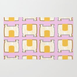 Pillow Fort Night - Pink 2 Rug