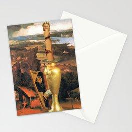 Monumento imposible a la Mujer-Niña Stationery Cards