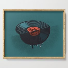 Hot Record Serving Tray