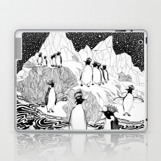 Too Many Kings Laptop & iPad Skin