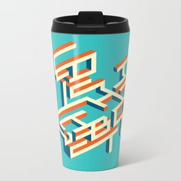 Miss O Ginny Metal Travel Mug