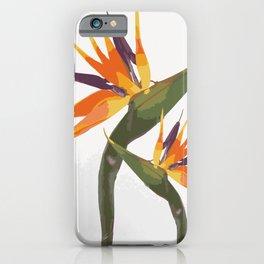 Paradise Flower iPhone Case