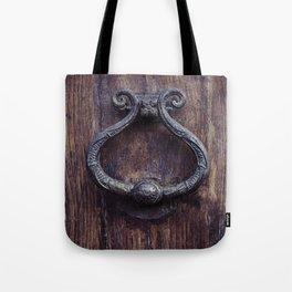 Doorknocker Tote Bag