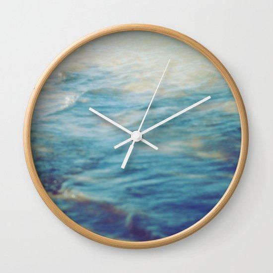 Fisherman in the distance, Mauritius II Wall Clock