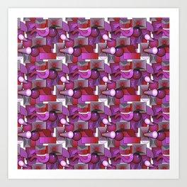 Circles and Squares, Oh, My Art Print