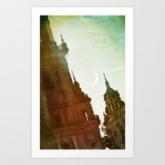 Le Palais des Songes Art Print