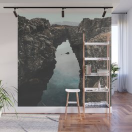 I left my heart in Iceland - landscape photography Wall Mural