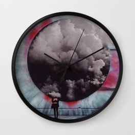 Clouded Judgment Wall Clock