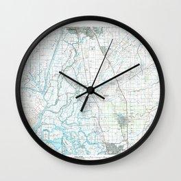 CA Lodi 299108 1993 topographic map Wall Clock